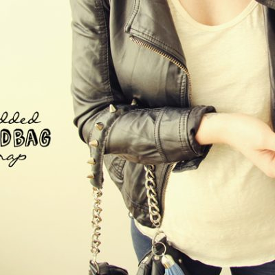 DIY Studded Handbag Strap