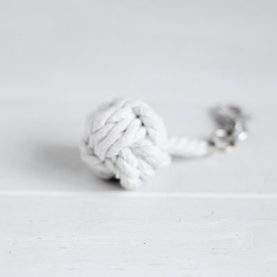 DIY Monkey Fist Knot Keyring