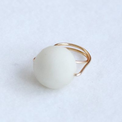 Fall For DIY | Giant Pearl Ring