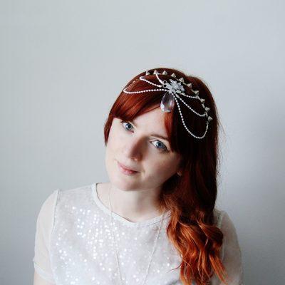 DIY Wedding Head Dress