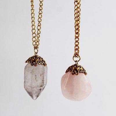DIY Decadent Crystal Necklace