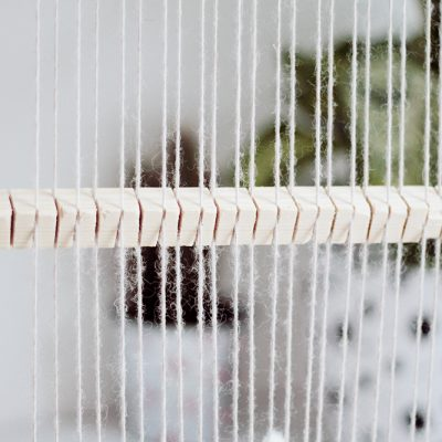 DIY Heddle Bar to Speed up your Weave