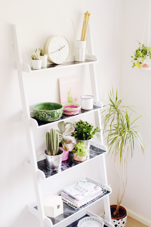 Fall For DIY | Ladder Shelf Hack | Fall For DIY
