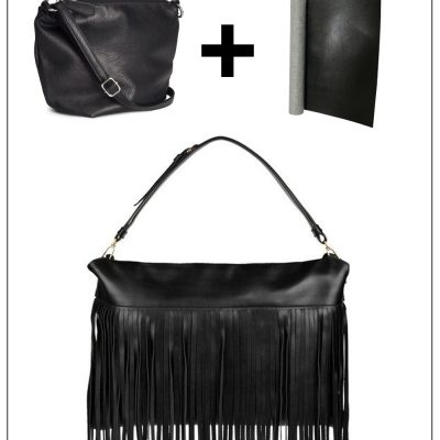Make it Easy: Miu Miu Fringed Leather Shoulder Bag