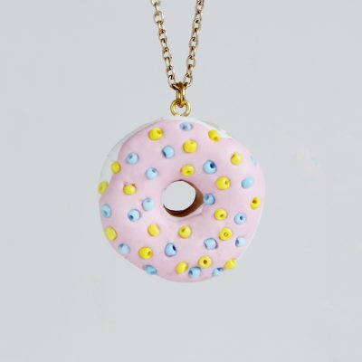 Fall For DIY & Mollie Makes | Donut Necklace