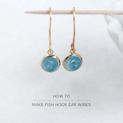 How To Make Fish Hook Ear Wires