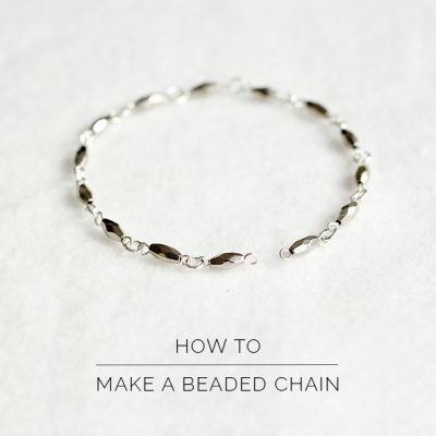 How To Make a Beaded Chain