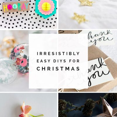 Irresistibly Easy DIYs for Christmas