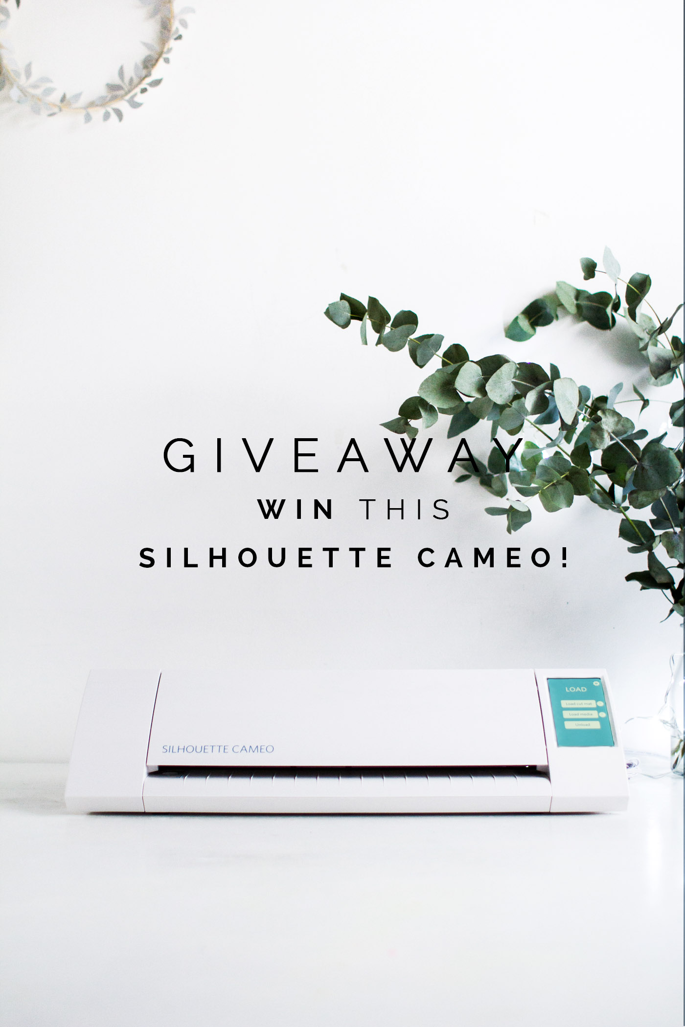Win a Silhouette Cameo with Fall For DIY and The Holiday Collective!