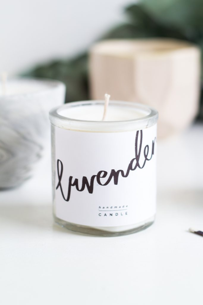Diy Scented Candle Gifts Free Printable Labels Fall For Diy