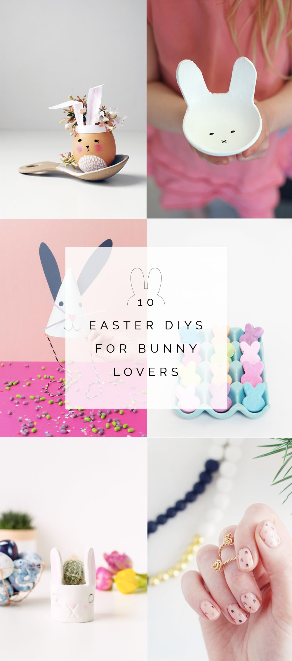10 Easter DIY's for Bunny Lovers