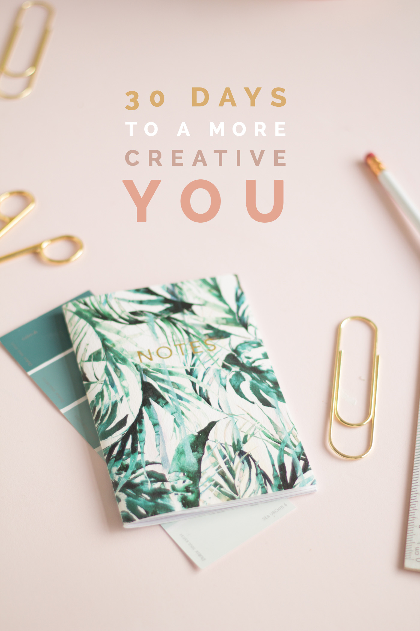 30 Days to a more Creative You Challenge