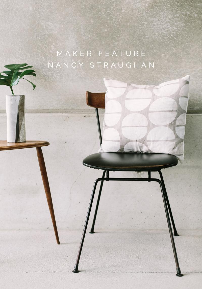 Maker Feature :  Nancy Straughan – Print designer