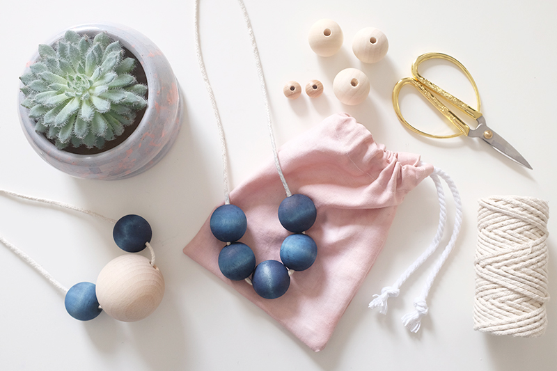 We Make Collective Relaunch Day 7 | Indigo beads and Avocado pouches
