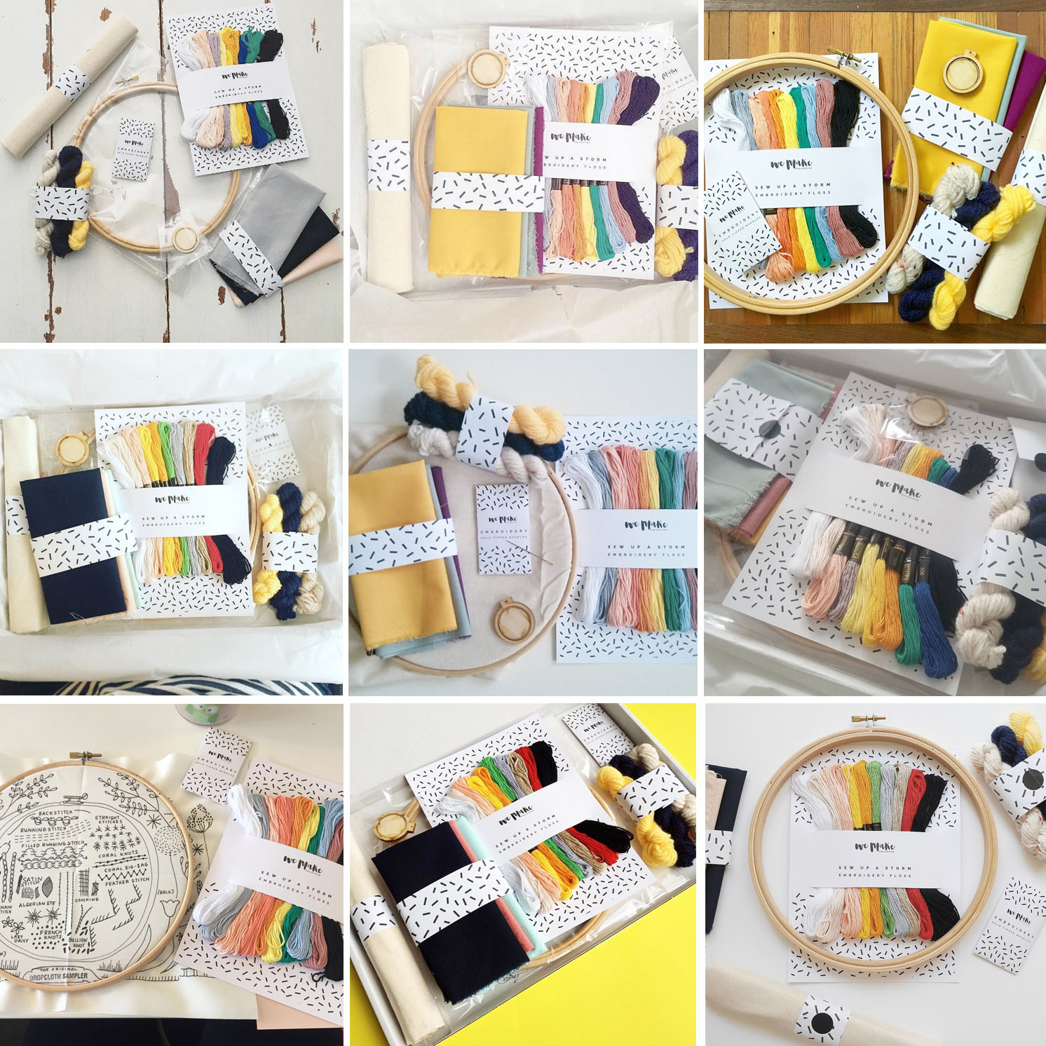 Highlights from a Hashtag – Your Photos of our Embroidery Kit