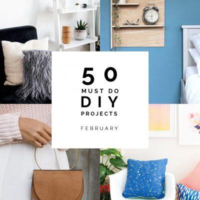 50 Must Do DIYs | February