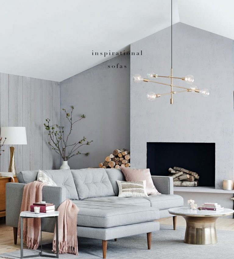 Living Room Design Ideas 50 Inspirational Sofas: Three Rooms Inspired By The Sofa