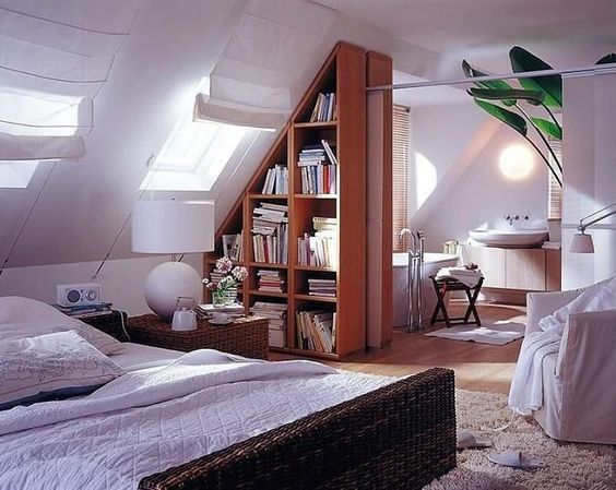 How To Design A Room With Sloped Roof