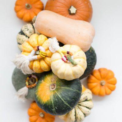 DIY Pumpkin Top Tassels