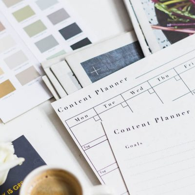 FREE Printable Monthly Content Planner