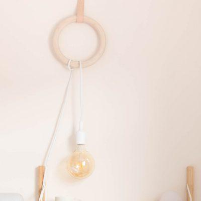 DIY Gym Ring Hanging Pendant Lamp