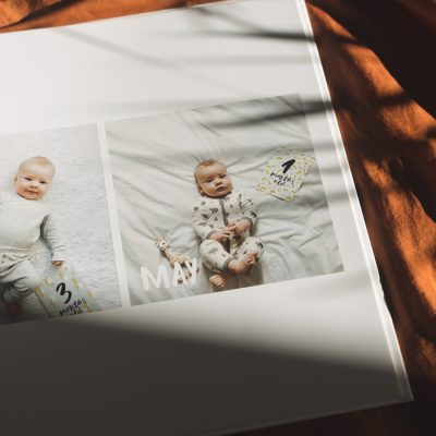 Making Ollen's Memory Book – How to make the Perfect Grandparent Gift