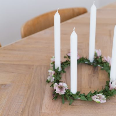 DIY Valentine's Day Candle Ring
