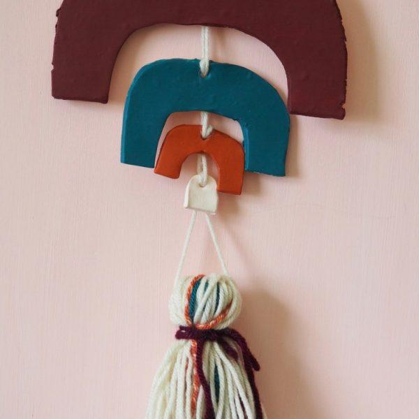 13 DIY Rainbow Wall Hangings to Make this Weekend