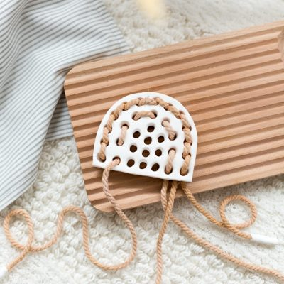 DIY Lacing Toy