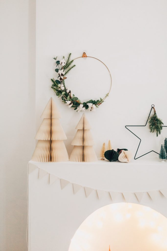 DIY Recycled Paper Bunting